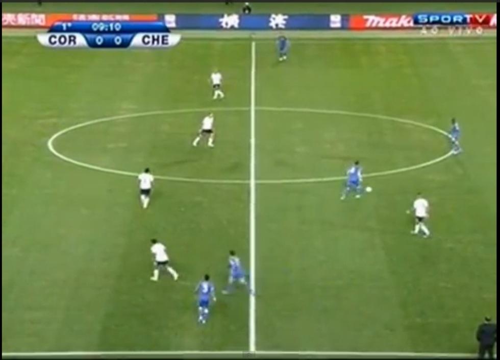 Corinthians no 4-1-4-1